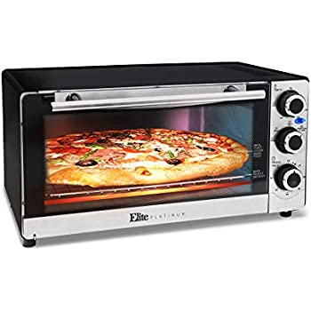 Maximatic eto 140c elite platinum stainless - Cool touch exterior convection toaster oven ...