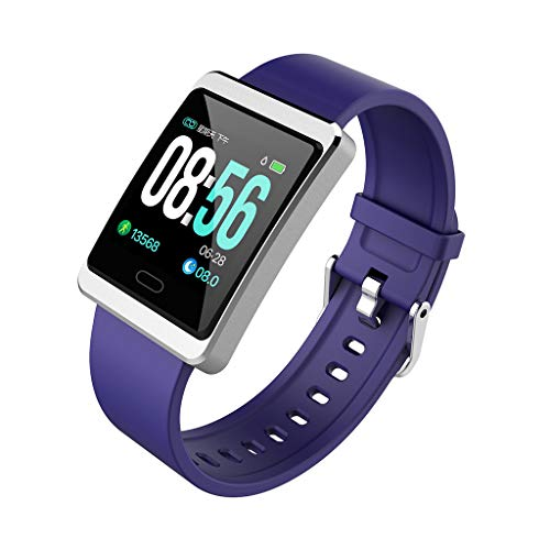 Price comparison product image ShaoshaoSmart Watch_Y13 Sports Fitness Activity Heart Rate Tracker Blood Pressure Watch (Blue)