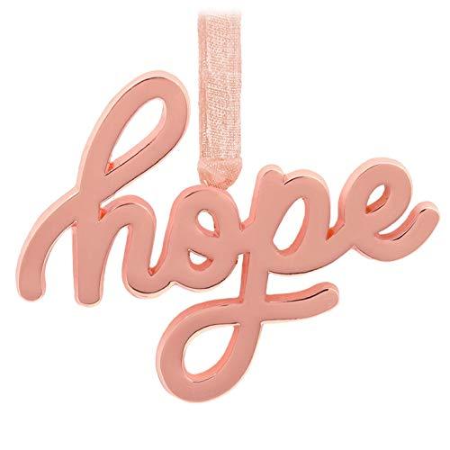 Hallmark Hope Metal Word - Christmas Hope Ornament
