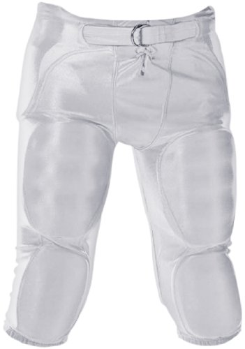 Alleson Athletic Adult Unisex 688D Solo Integrated Football Pants 40-42