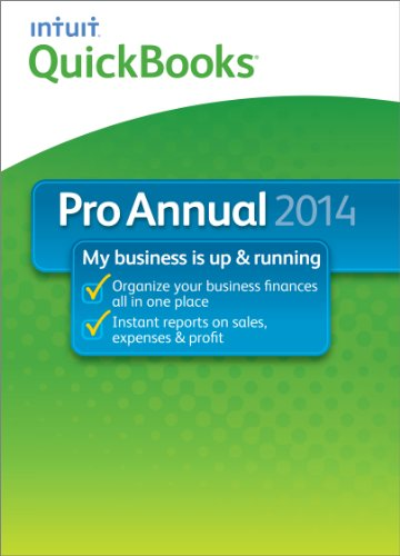 QuickBooks Pro Annual 2014 [Download]