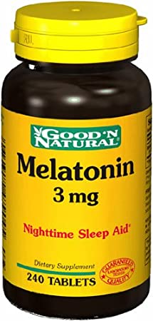 Good N Natural - Melatonin 3 mg. - 240 Tablets
