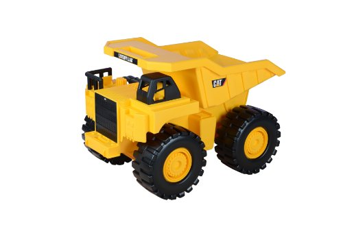 Toy State Caterpillar 18 Inch Push Powered Big Rev It Up Dump Truck