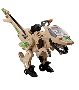VTech - Switch & Go Dinos - Clade the Velociraptor - Rotor Version Anglaise (Import Royaume-Uni)