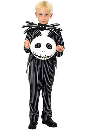 Disney Nightmare Before Christmas Jack Skellington Child Costume (Small)
