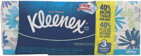 Kleenex Facial Tissue Cube 3pk Case Pack 12 , Automotive, tool & industrial , Office maintenance, janitorial & lunchroom , Bathroom supplies , Paper goods