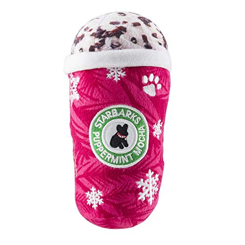 Haute Diggity Dog Starbarks Coffee Collection | Unique Squeaky Plush Dog Toys - Canine Caffeine Your Dog Can Handle! (Large Toys Dog Christmas)