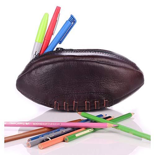 Estuche de Lona de balón de Rugby de Piel Vintage: Amazon.es ...