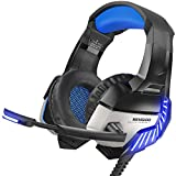 BENGOO K8 Gaming Headset for PS4, Xbox One, PC, Mac, Noise Cancelling Over