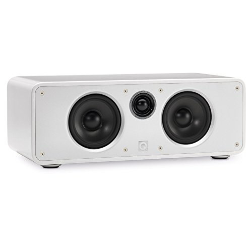 Q Acoustics Concept Center Channel Speaker (Gloss White) by Q Acoustics