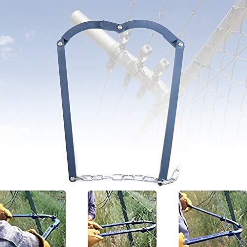 Chain Fence Strainer Electric Fence Energiser Repair Tool, Home Fence Repair Tool ,Manual Patch Garden Fence Fixer Stretcher Tensioner for Barbed Wire, Electric Fence Wire, Horse Fencing or Net Wire
