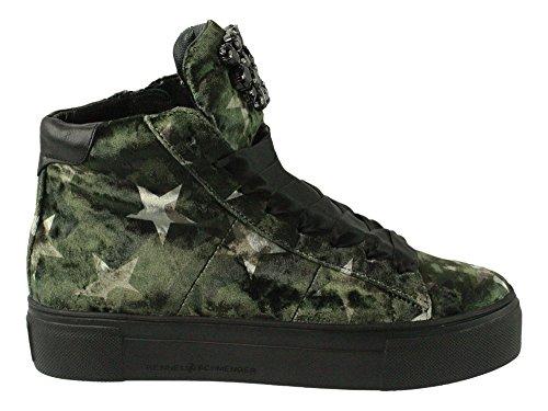 Kennel & Schmenger | High Top Sneaker - grün - oliv Grün