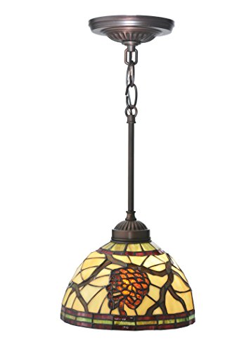Light Pendant 2 Pinecone (Meyda Tiffany 106290 8