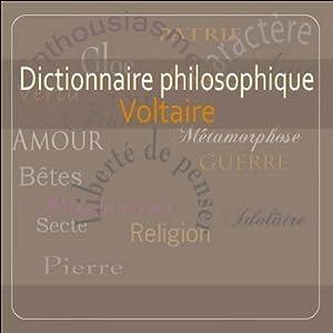 Dictionnaire philosophique | Livre audio