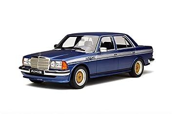 Otto Mobile Ot221 Mercedes Benz W123 Amg 1 18 Scale Blue White