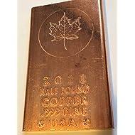 Maple Leaf 2011 Half Pound Copper bar