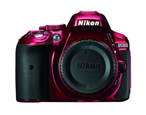 Nikon D5300 DSLR Camera (Body Only) Red 1520