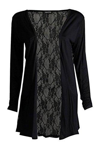 Cardigan Fashion amp; Donna Freedom Black rYp4qAY8W