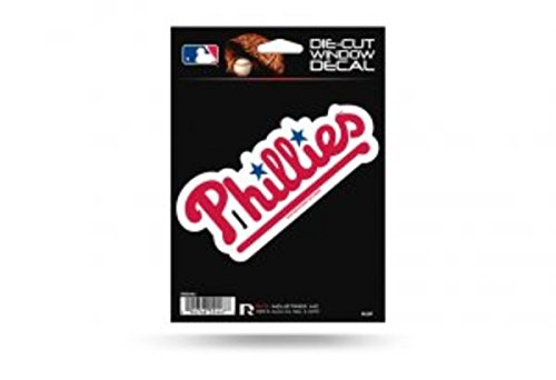 MLB Philadelphia Phillies Die-Cut Window Decal (Philly Window Decals compare prices)