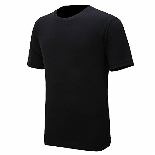Maoko Mens Sports Short Sleeve Polyester T-Shirt,Running T Shirts for Boys Quick Drying - Charlotte Charlotte Port Sun