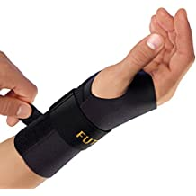 Futuro Energizing Wrist Support, Helps Relieve Symptoms of Carpal Tunnel Syndrome, Provides Support, Moderate Stabilizing Support, Right Hand, Small/Medium, Black