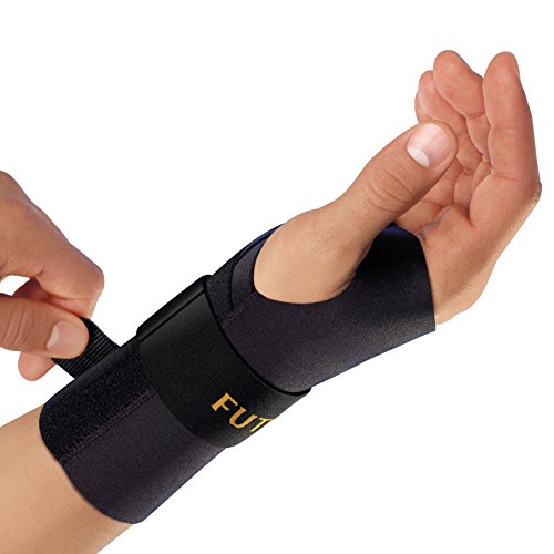 Futuro Energizing Wrist Support, Provides Support, Left Hand, Large/X-Large, Black, Moderate Stabilizing Support by Futuro