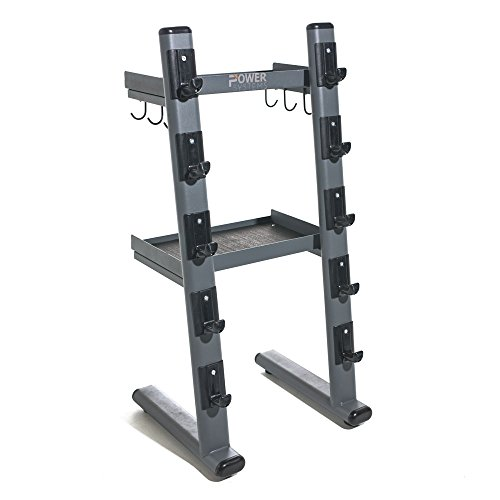 Power Systems Black Chrome Cable Attachments Bar and Accessory Rack (61947) by Power Systems