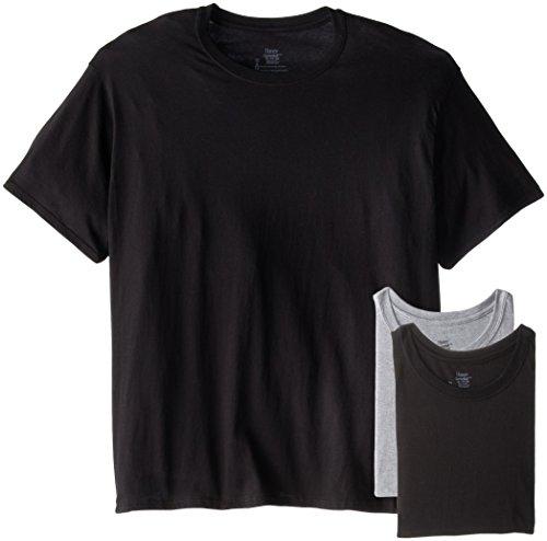 Hanes Men's ComfortSoft® Dyed TAGLESS® Crewneck Undershirt