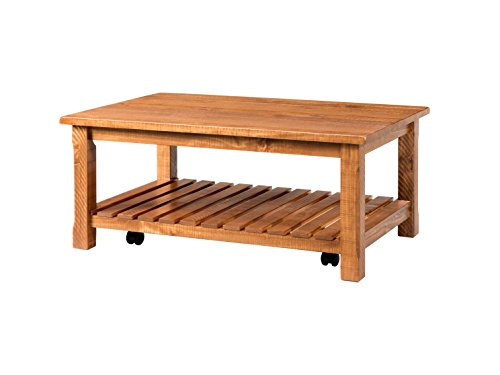 Martin Svensson Home 890227 Coffee Table, Honey Tobacco