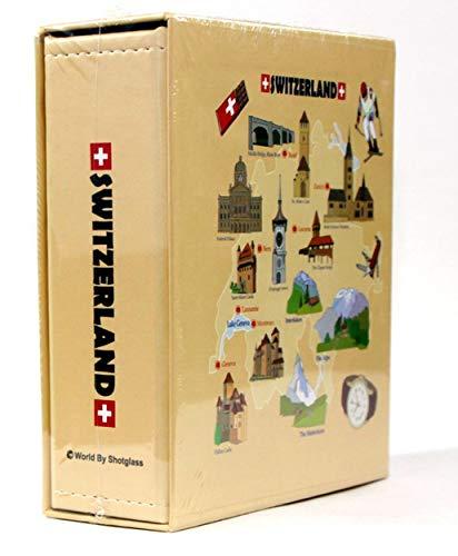 Switzerland Embossed Photo Album 200 Photos / 4x6 NEW