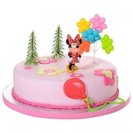 Decoración para tartas Minnie Mouse 4 teiligtortenaufleger 1 ...