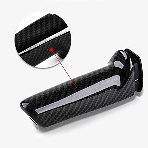 TOOGOO For E46 E90 E92 E60 E39 F30 F34 F10 F20 Accessories Universal Carbon Fiber Car Handbrake Grips Cover Interior Trim