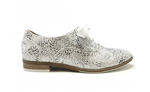 Blanco Cordones de Zapatos para Fugitive Mujer EXg7qnw