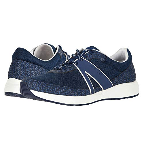 TRAQ BY ALEGRIA Qarma Womens Smart Walking Shoe Paths Navy 10 M US (Smart Shoes)