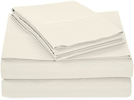 - 4 Piece Bedding Set Flat Sheet Twin, White Fitted Sheet Hypoallergenic Hotel Luxury Quality Microfiber Fade and Stain Resistant Wrinkle Alurri Bed Sheet Set 2 Pillowcases