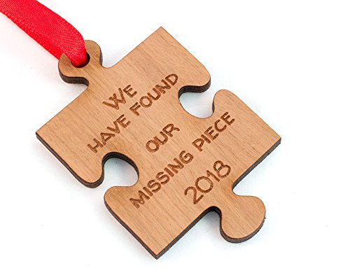 Missing Piece Adoption Christmas Ornament