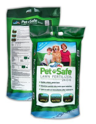 Pet Safe Lawn Fertilizer 5M, Treats 5,000 square ft. Pet and Kid safe