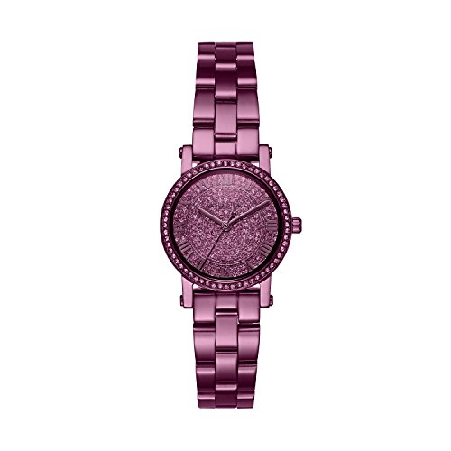 Michael Kors Women's 'Petite Norie' Quartz Stainless Steel Casual Watch, Color:Purple (Model: MK3778) by Michael Kors