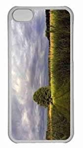 Customized iphone 5C PC Transparent Case - Summer 5 Personalized Cover