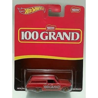 Hot Wheels Nestle 100 Grand '64 Chevy Nova Delivery Red: Everything Else