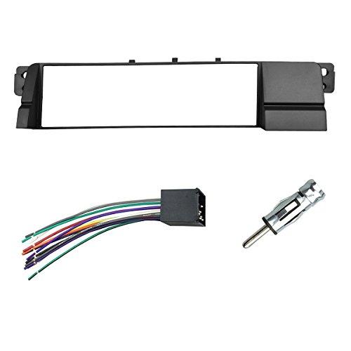 DKMUS Din Radio Dash Kit for BMW 3 Series M3 E46 (w. wiring)