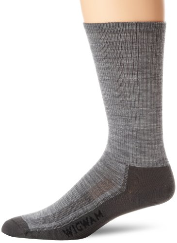 - Wigwam Men's Merino Airlite Pro Socks, Gray, Large