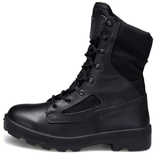 Shoe Shoe Black Top Pattuglia Police Sicurezza Up Cadet Military Uomo Uomo Uomo Combattimento Boot Tactical Shoes Desert Stivali High Addestramento Army da Lace per di Security BwRd7nqF