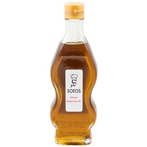 Soeos Prickly Ash Oil, Sichuan Peppercorn Oil, Peppercorn Oil, 8.96 Fl OZ.
