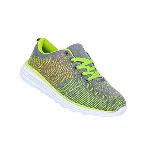 Freizeitschuhe Schuhe NEU Damen Sneaker 5472 Schwarz Silber 41