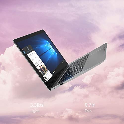 """AVITA Clarus 14"""" Laptop, Windows 10, Intel Core i5 Processor, 8GB RAM, 128GB SSD Storage, All Metal - (CN6314F551) (Silver)"""