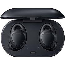 Samsung Gear IconX (2018) Cuffie Wireless per Telefono, In-Ear, Binaurale, Touch, Nero [Versione Francese]