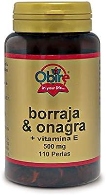 Borraja & onagra 500 mg. 110 perlas: Amazon.es: Salud y cuidado ...