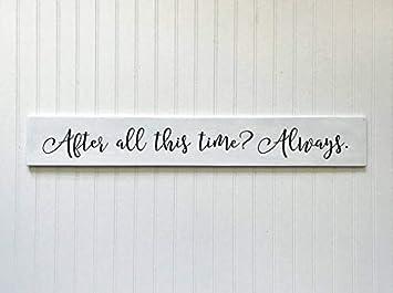 Harry Potter Always Personalised Name Door Sign Plaque Bedroom Magic Gift World