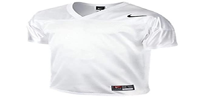 online retailer f31f9 32c90 NIKE Men's Core Football Practice Jersey (XL, White ...
